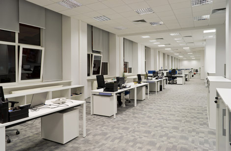 Commercial cleaning and contract cleaning of offices in Edinburgh and Glasgow