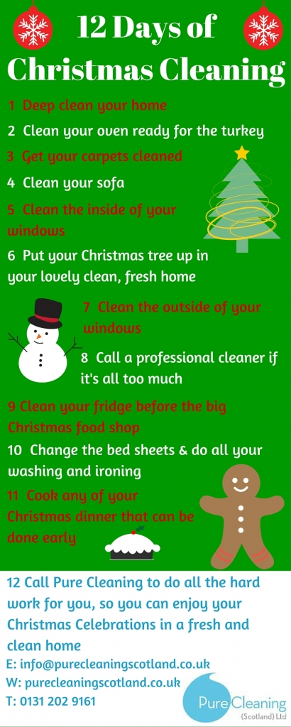 Pre Christmas Cleaning Tasks