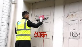 Graffiti cleaning - Pure Cleaning Scotland