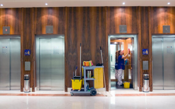 Hospitality and leisure centre cleaning services