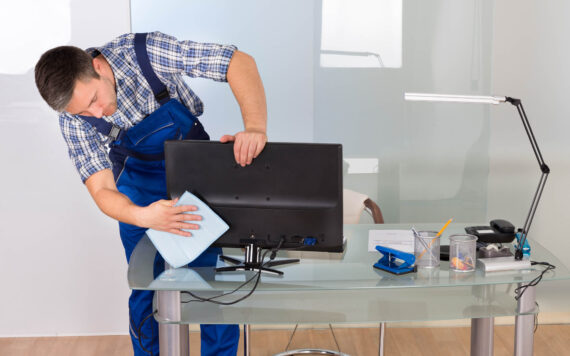 Factory & warehouse cleaning services in Edinburgh & Glasgow